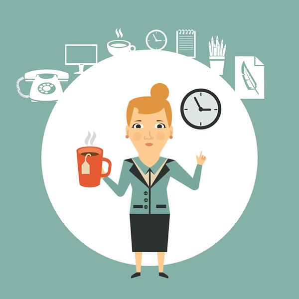 労働時間と休憩を管理