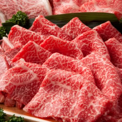 凝縮されたお肉